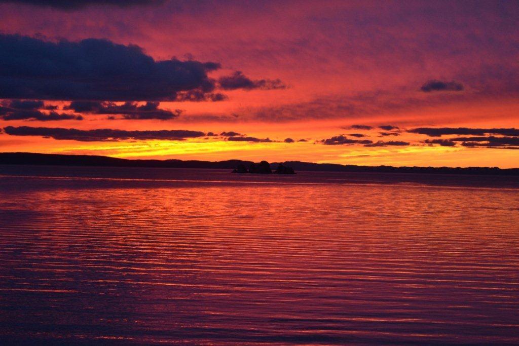 Sunday Sunset Blogging >> Sunset Sunday Ocean Delight Cottages